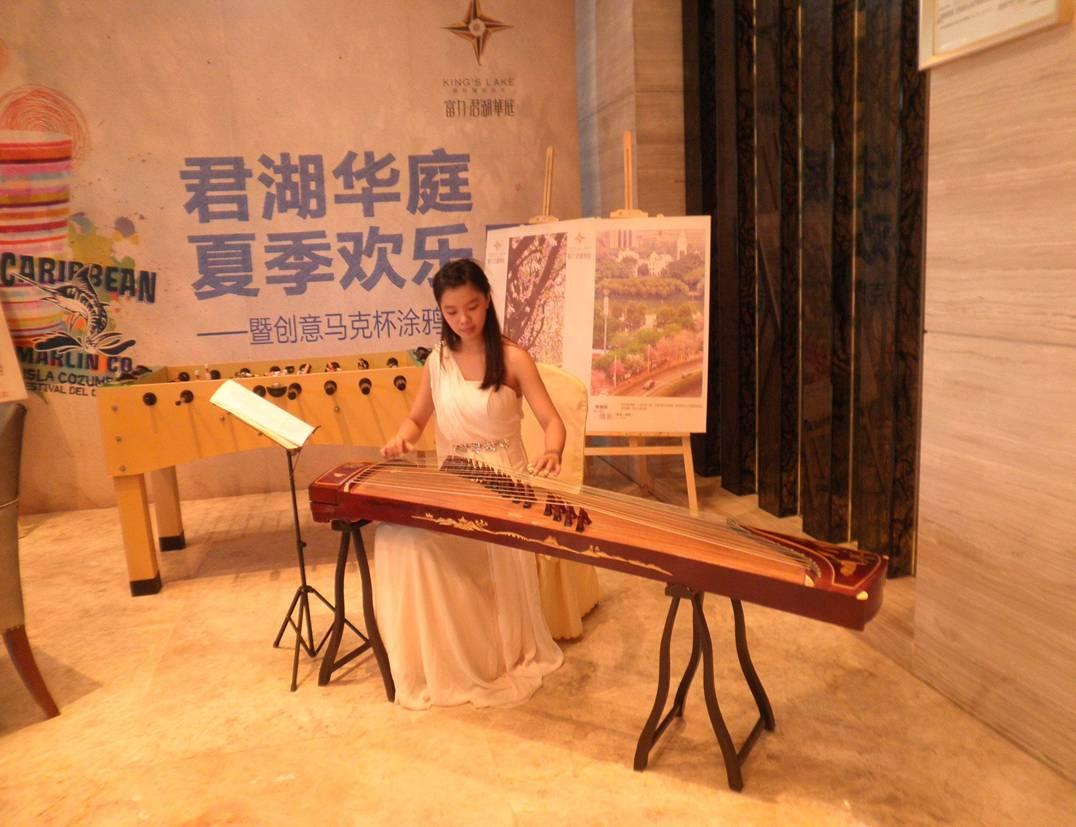广州古筝表演图片